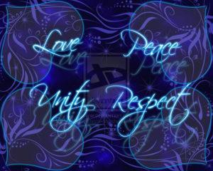 Suspicions, love, peace, unity, respect
